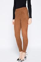 Pantaloni Sonny Suede • Vero Moda