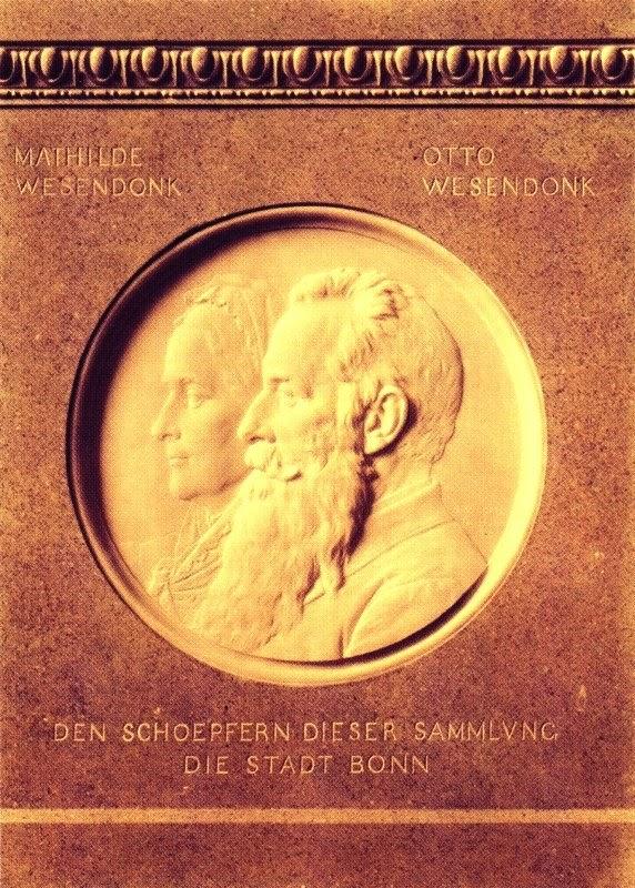 Medaillon für die Stifter der Sammlung, Provinzial-Museum Bonn, 1910
