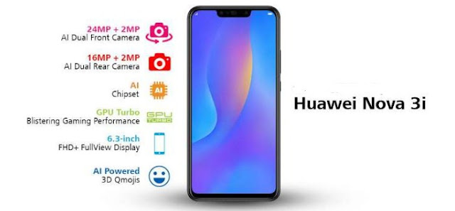 Huawei Nova 3i Specifications