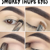 Smokey Taupe Eye Makeup