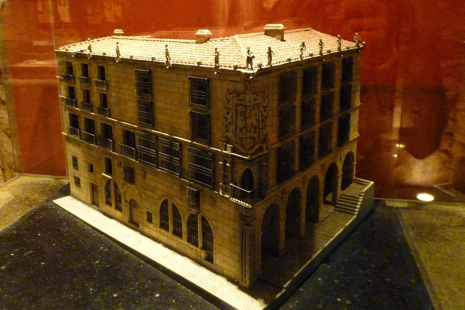 Maqueta del Palacio del Marqués de la Conquista.