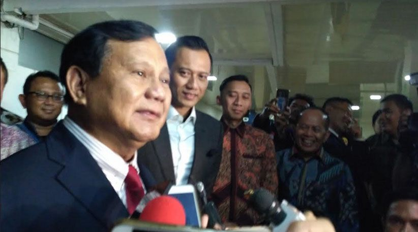 """Bocor, Cawapres Prabowo Berawalan """"A"""""""