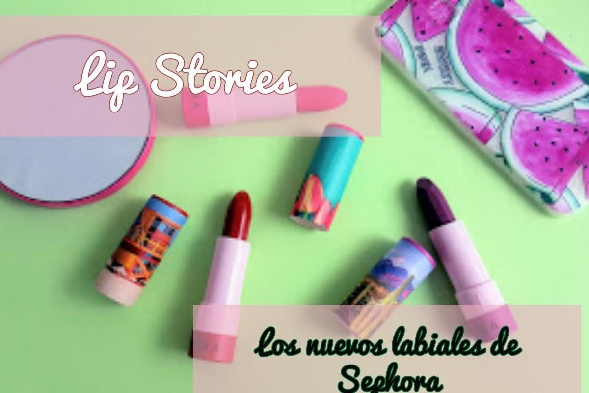 Novedades en Sephora: Lipstories, los labiales de los que vas a ...
