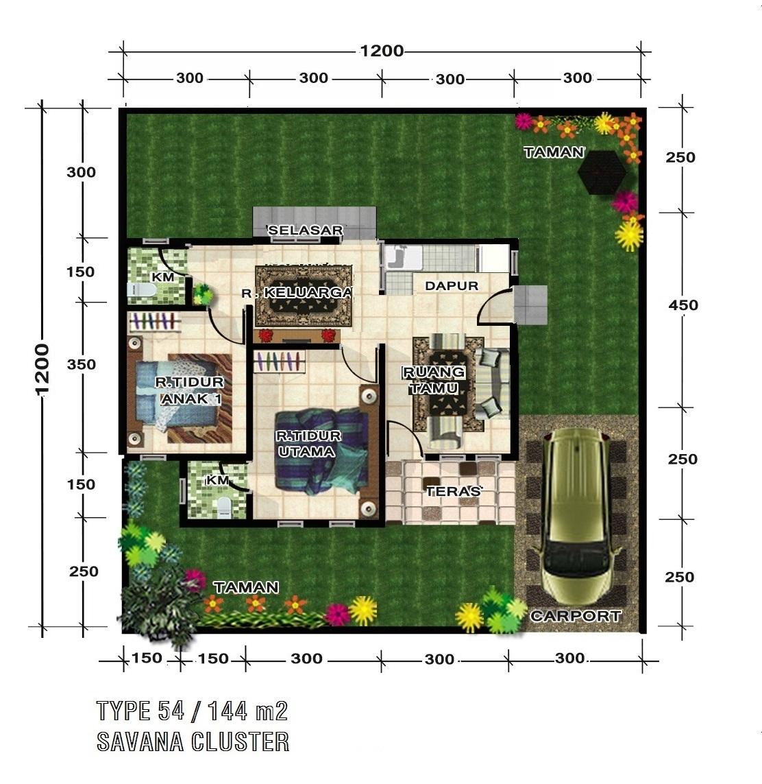 60 Desain Rumah Minimalis Luas Tanah 144 Desain Rumah Minimalis