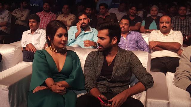 rashi khanna hot at hyper audio launch