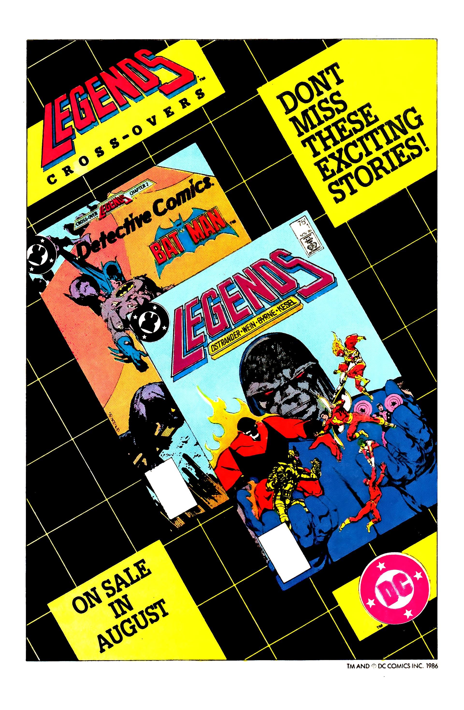 Read online Secret Origins (1986) comic -  Issue #8 - 8