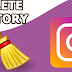 Clear History On Instagram