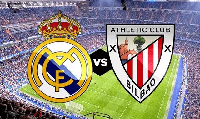 ريال مدريد واتليتك بلباو بدون تقطيع 21-4-2019  والقنوات الناقلة ! Real Madrid VS Athletic Bilbao