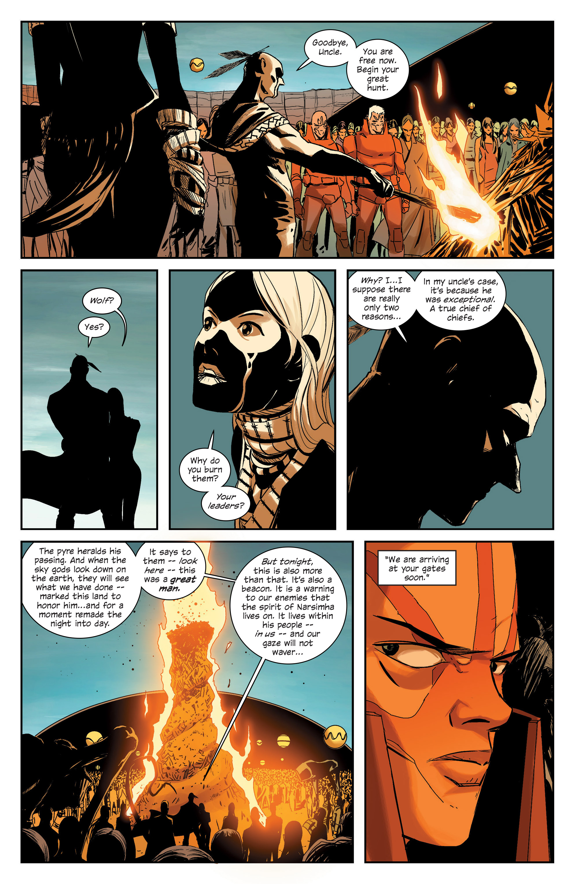 Read online East Of West comic -  Issue #33 - 6