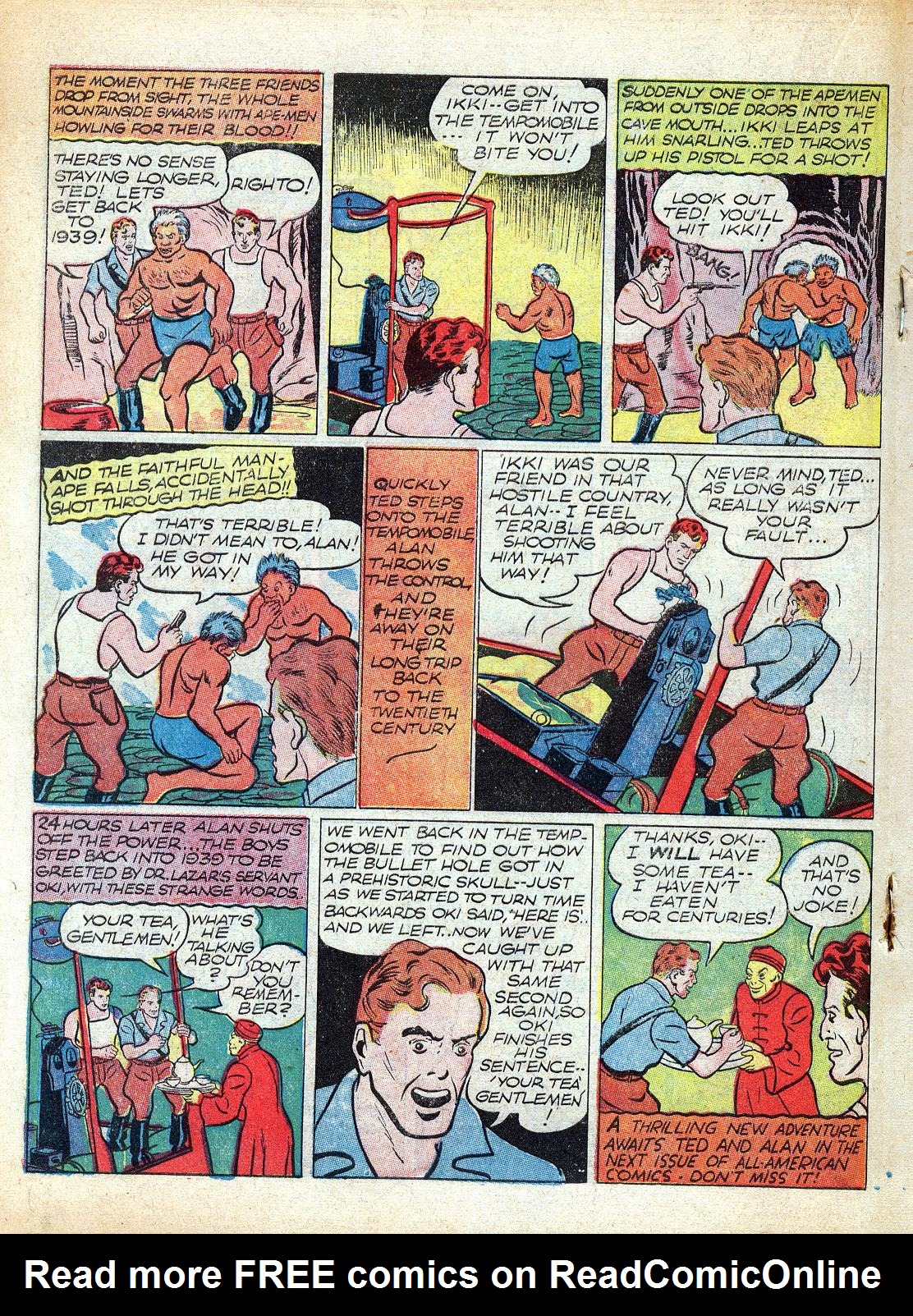 Read online All-American Comics (1939) comic -  Issue #12 - 34
