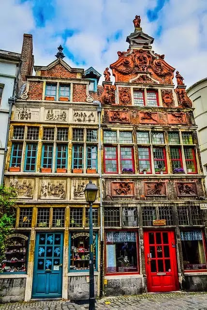 10 Best Places to Holiday in Belgium (100+ Photos) | Belgian Buildings in Ghent Belgium
