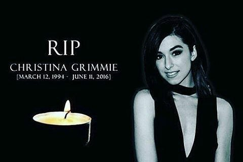 Fangirl friday christina grimmie and the orlando shooting last week on friday night christina grimmie gave her last show and was shot at her meet and greet right after the show she died that night because of that m4hsunfo