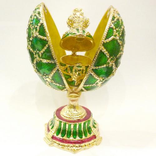 Caixinhas de bijuterias em formato de ovo
