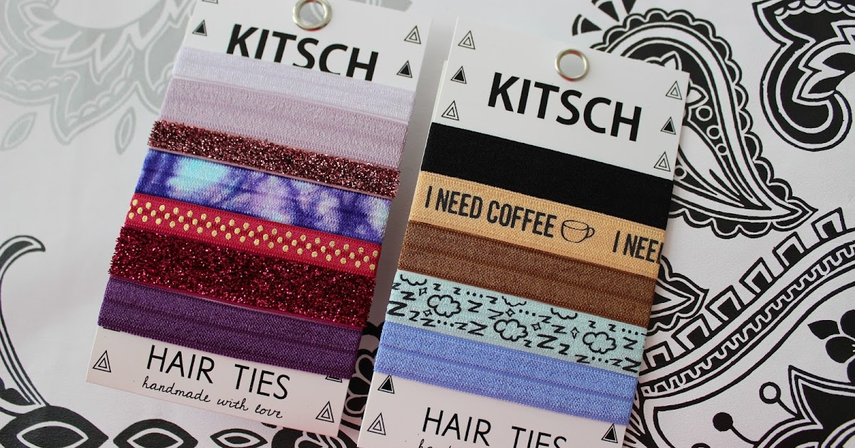 Kitsch Handmade Hair Ties Tales Of A Pale Face Uk