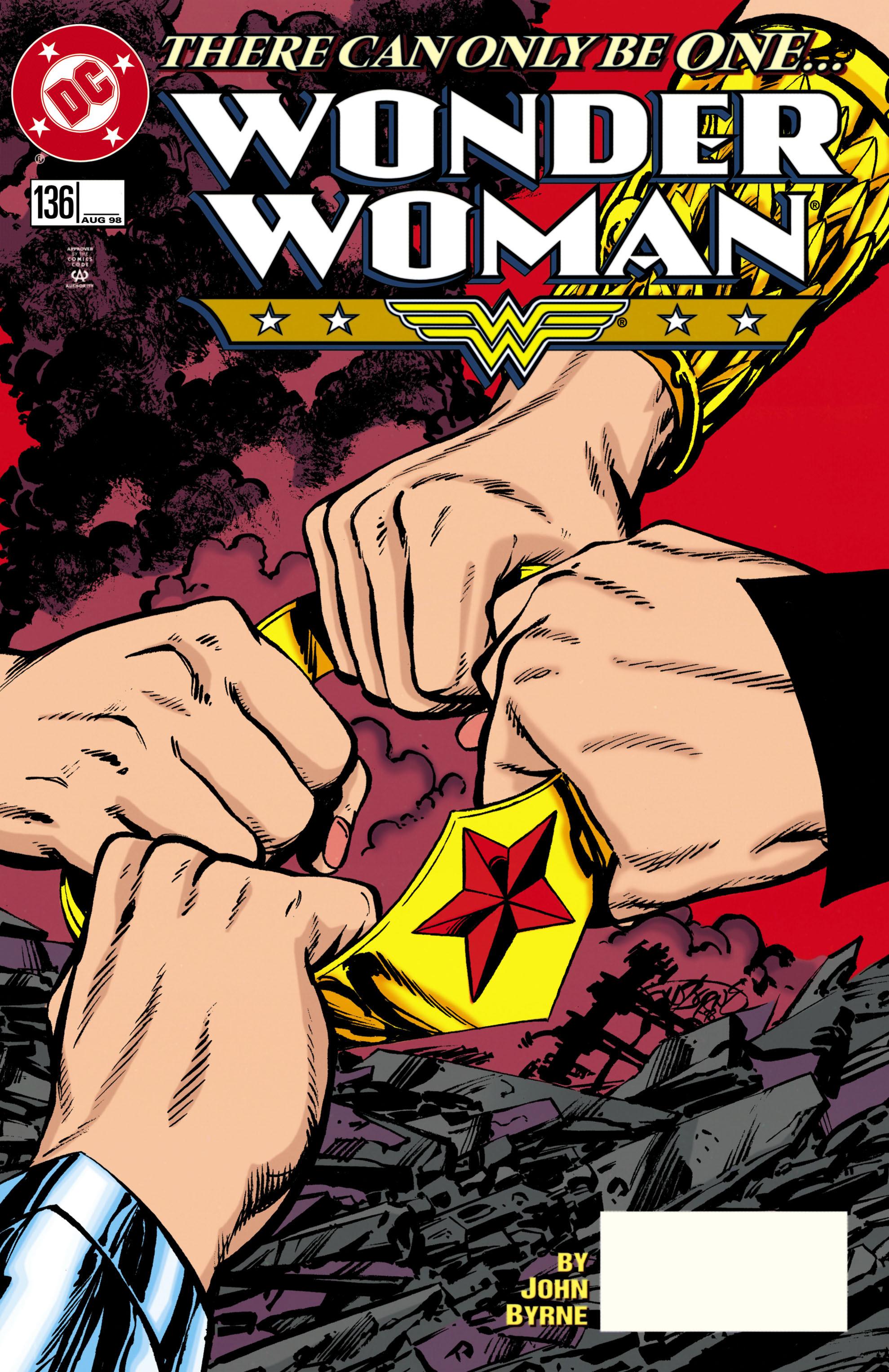 Read online Wonder Woman (1987) comic -  Issue #136 - 1