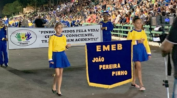 Bebedouro comemora aniversário com Desfile Cívico e bolo de 135 metros