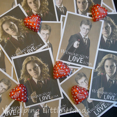 Printable Harry Potter Valentines @michellepaigeblogs.com