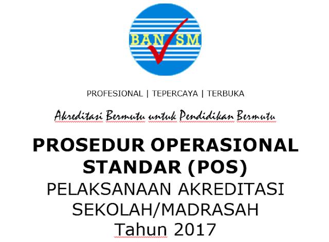 POS dan Perangkat Akreditasi Sekolah dan Madrasah Tahun 2017
