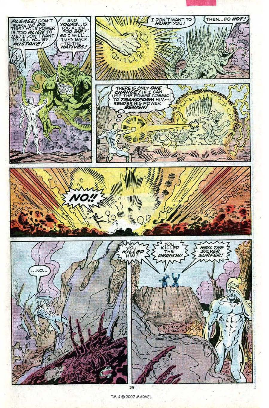 Read online Silver Surfer (1987) comic -  Issue #23 - 31