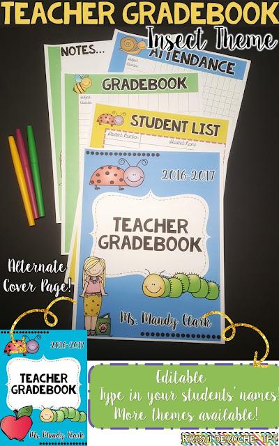 teachers grade book