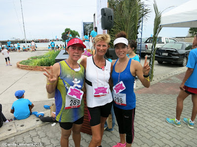8th Cancer Care run in Nathon, race day