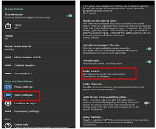 Cara Merekam di HP Xiaomi Dengan Microphone Eksternal
