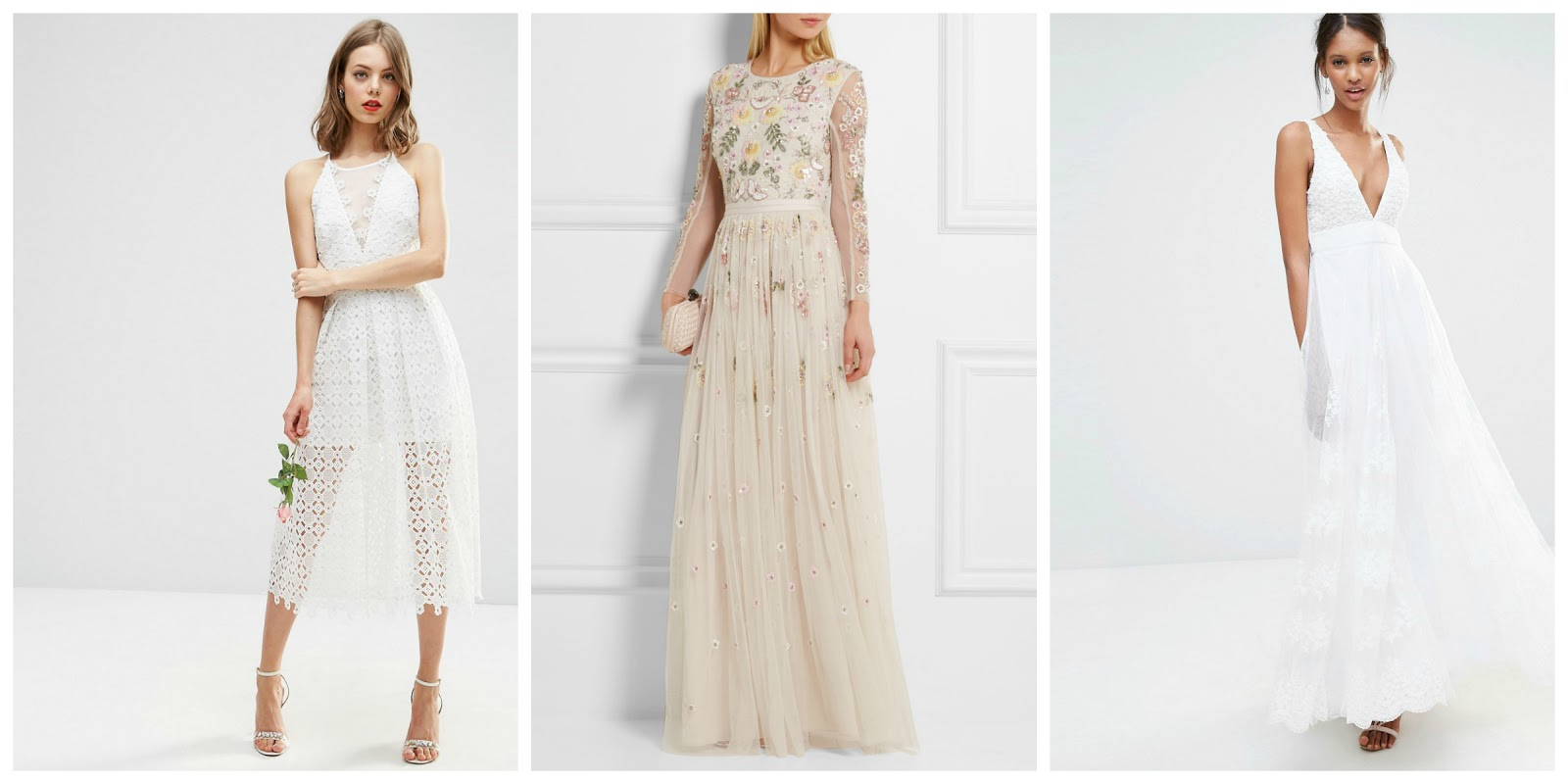 BEST WEDDING DRESSES AVAILABLE ON THE HIGH STREET