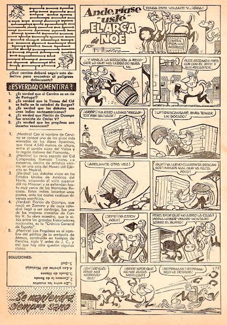 El Campeón de las Historietas nº 6 (18 de abril de 1960)