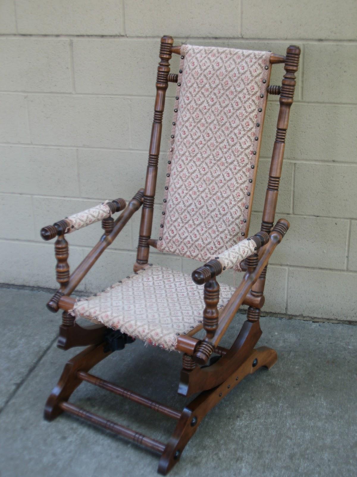 Antique Rocking Chair Identification Best Computer Desk Platform Rocker Bed Mattress Sale