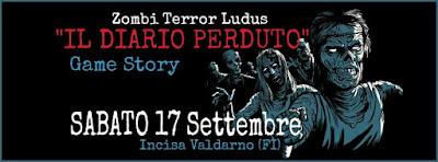 Zombi Terror Ludus - Il diario perduto - Game Story