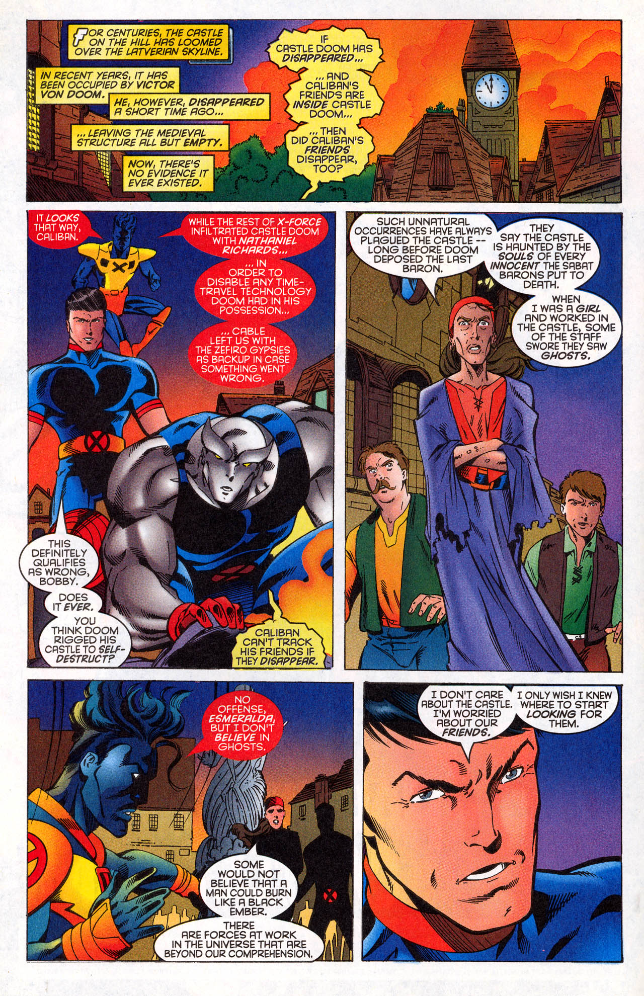 Read online X-Force (1991) comic -  Issue #64 - 4