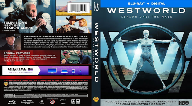 Westworld Season 1 Bluray Cover