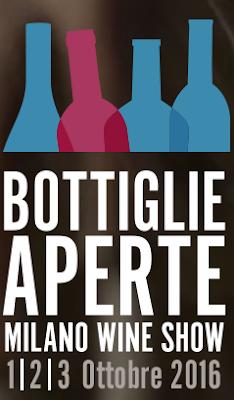 Bottiglie Aperte 1-2-3 Ottobre Milano 2016