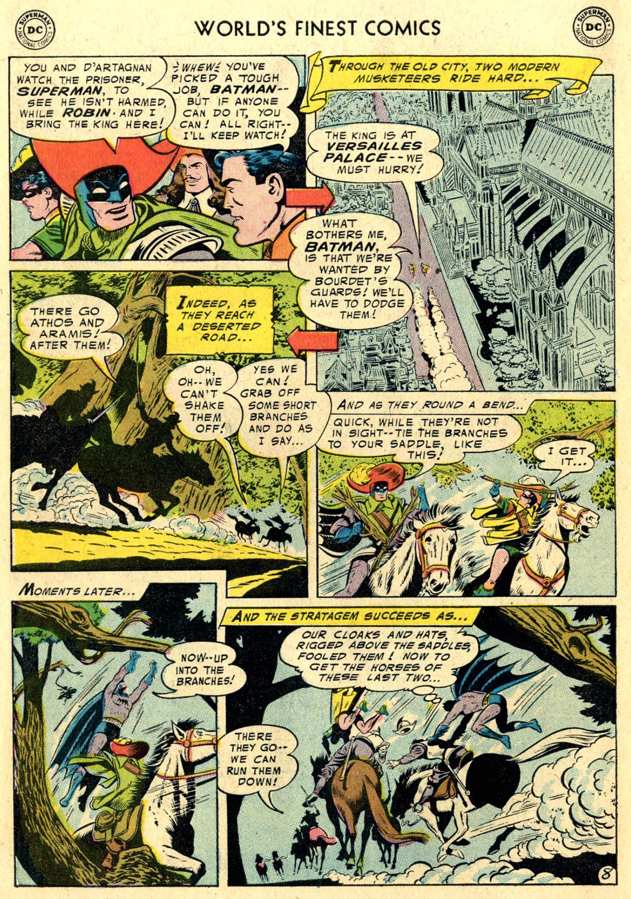 Read online World's Finest Comics comic -  Issue #82 - 10