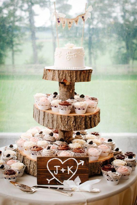 Babeczki muffinki na wesele, tort z babeczek, Tort weselny, przyjęcie weselne, wesele, słodki stół', słodkości na weselu, organizacja wesela, dekoracja stołu słodkiego, Babeczki na wesel, Inspiracje ślubne