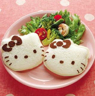 Gambar Roti Hello Kitty 1