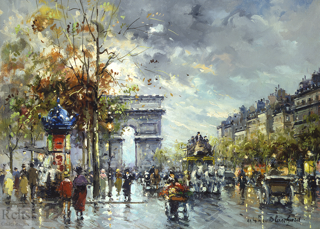 Antoine Blanchard - Arc de Triomphe