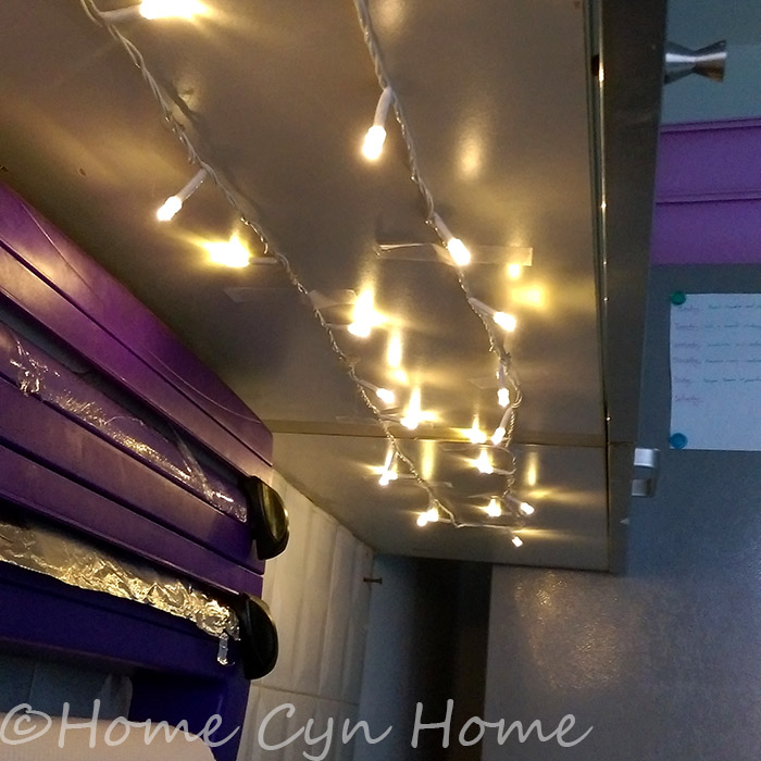 Kitchen night light DIY - Home Cyn Home