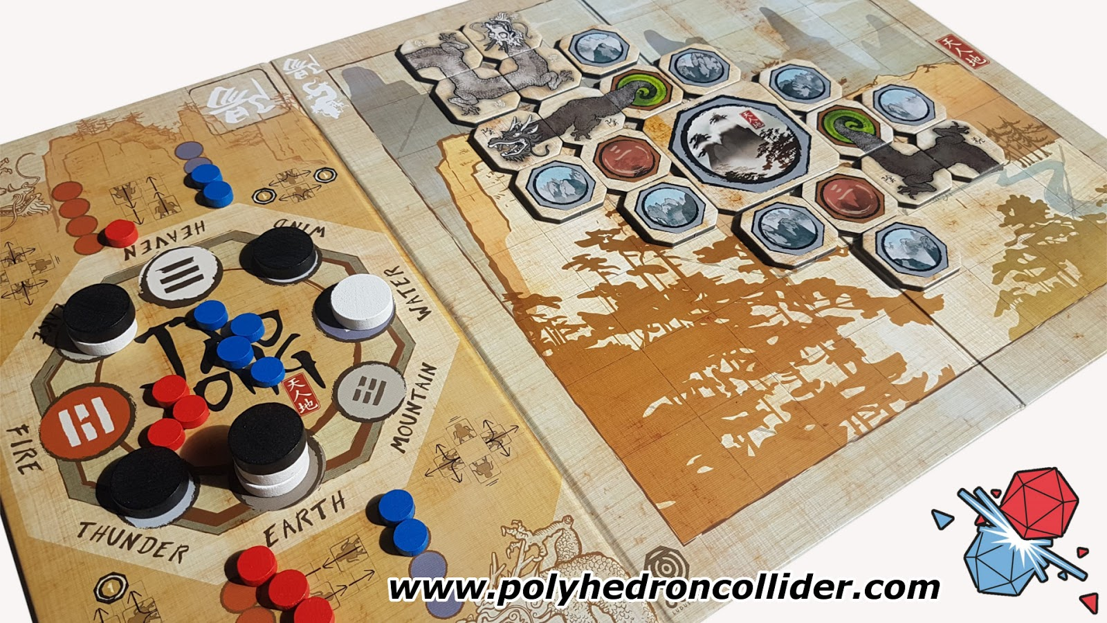 Polyhedron Collider Boardgame News