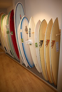 Firewire Sweet Potato and Spitfire in Surfshop Medusa