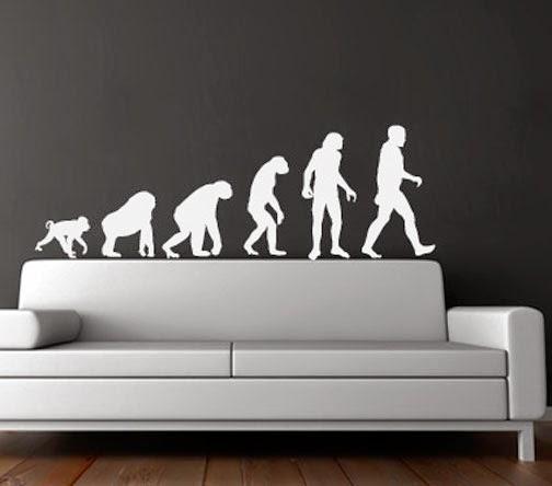 VINILO EVOLUCIÓN DEL HOMBRE