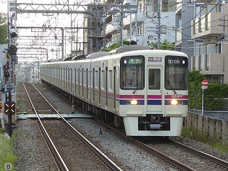 【9000系も表示変更!】競馬急行 新線新宿行き新LED(Keio New Line表示が追加)