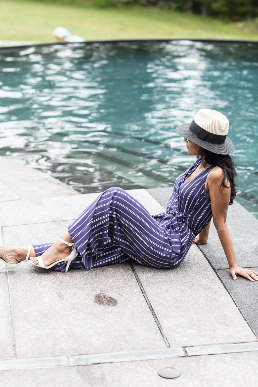 jumpsuits, summer style, petite fashion, nordstrom, nordstrom sale, pool style, vacay style, feminine style, petite blogger, maine travel guide