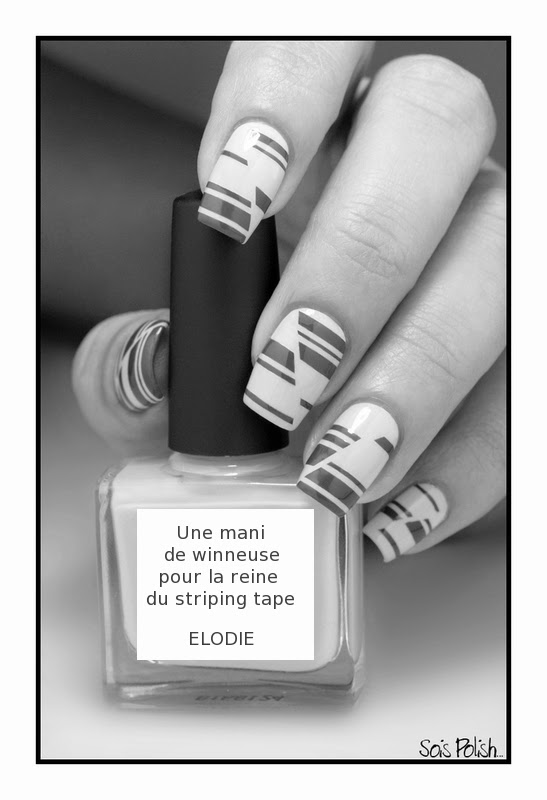 Striping Tape Picture Polish Nail Art