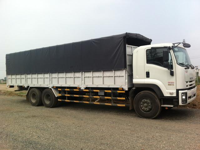 Thông số xe tải thùng 15 tấn