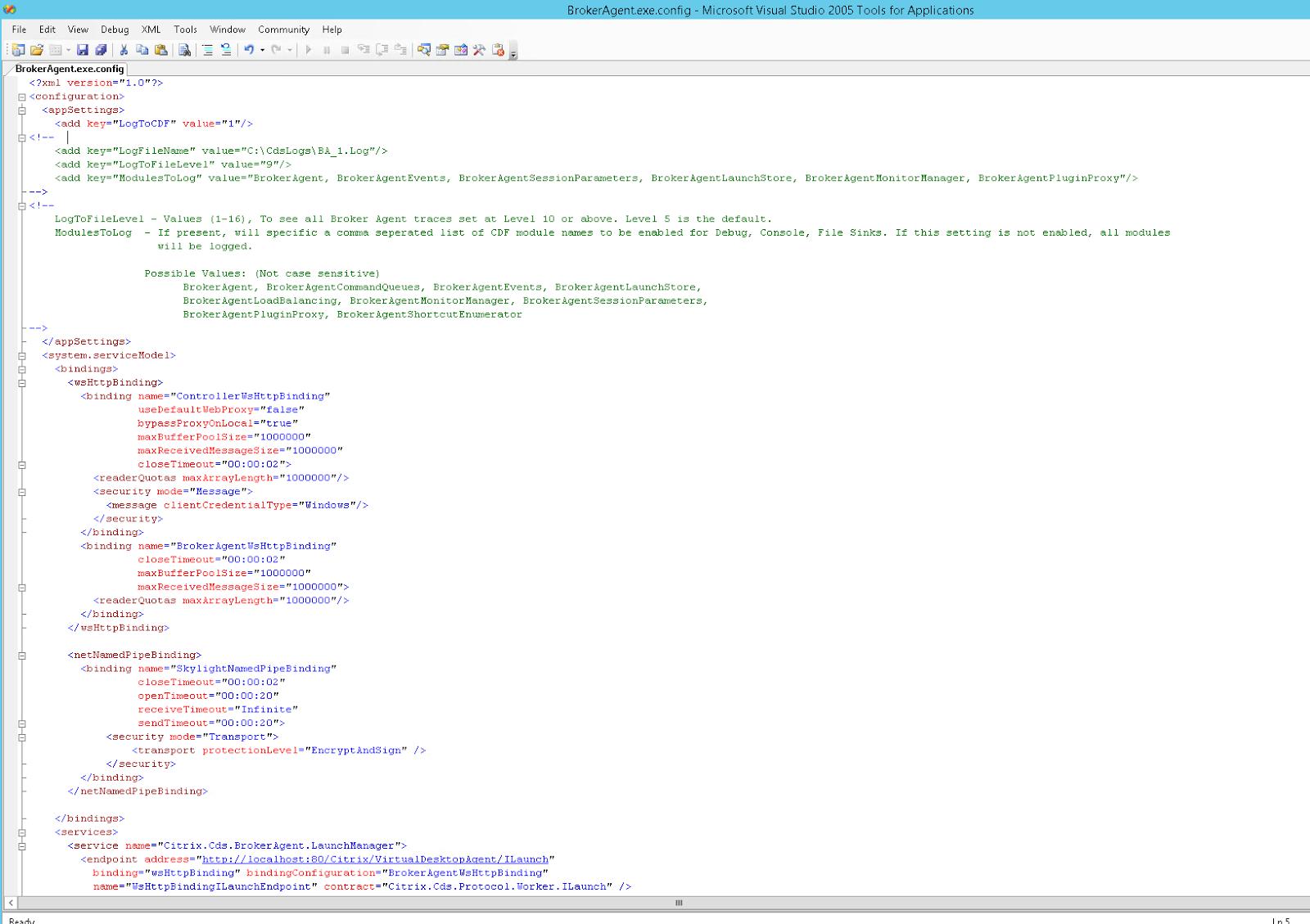 """Troubleshooting Citrix Desktop Service – """"The Citrix Desktop"""