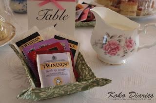 Fabric Tea Tray