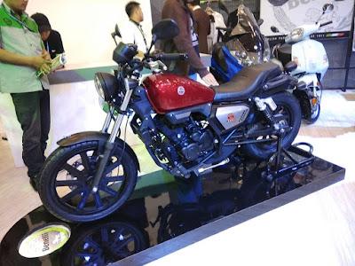 Benelli Motobi Evo 200