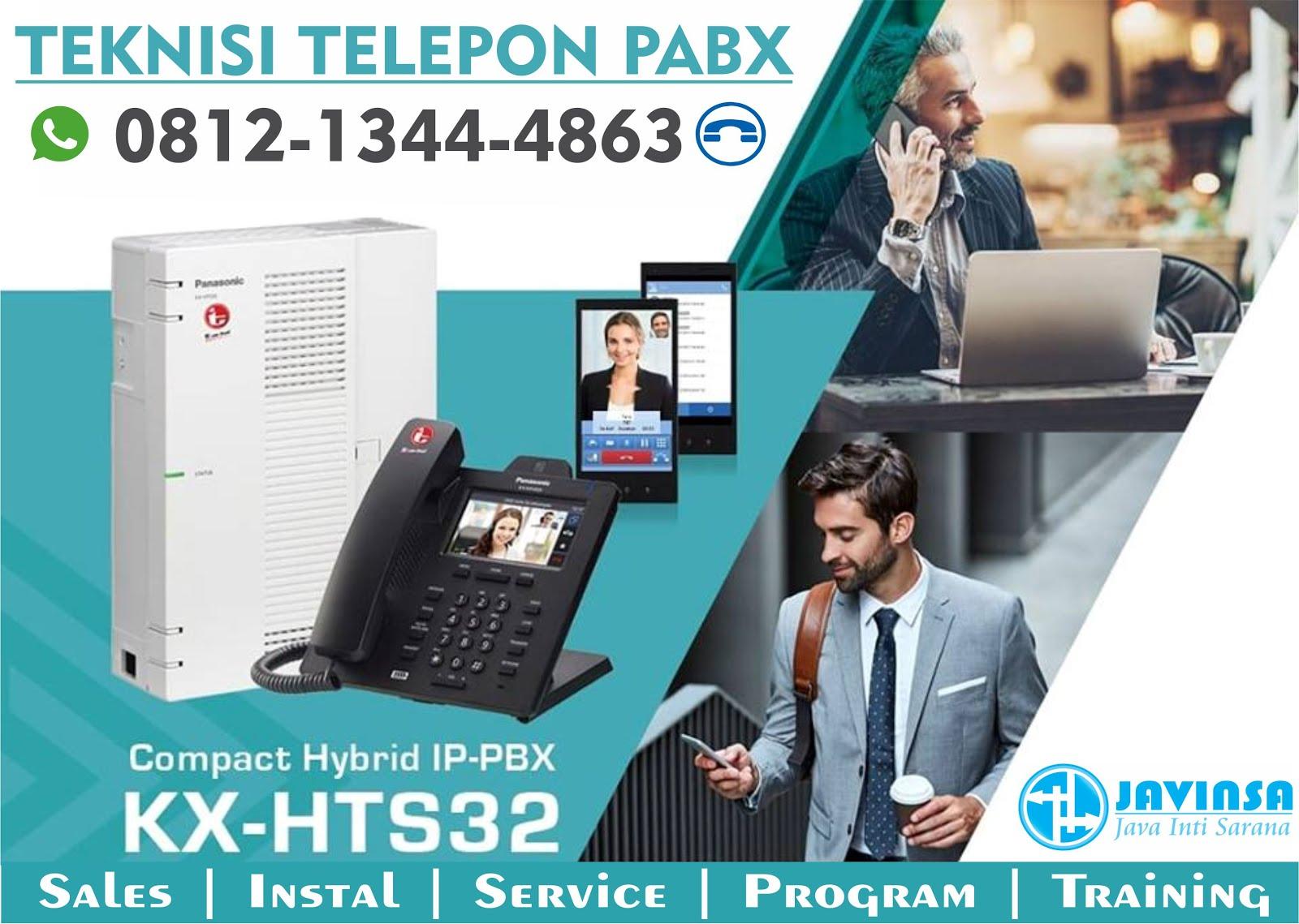 Java Inti Sarana | Teknisi Telepon PABX Panasonic