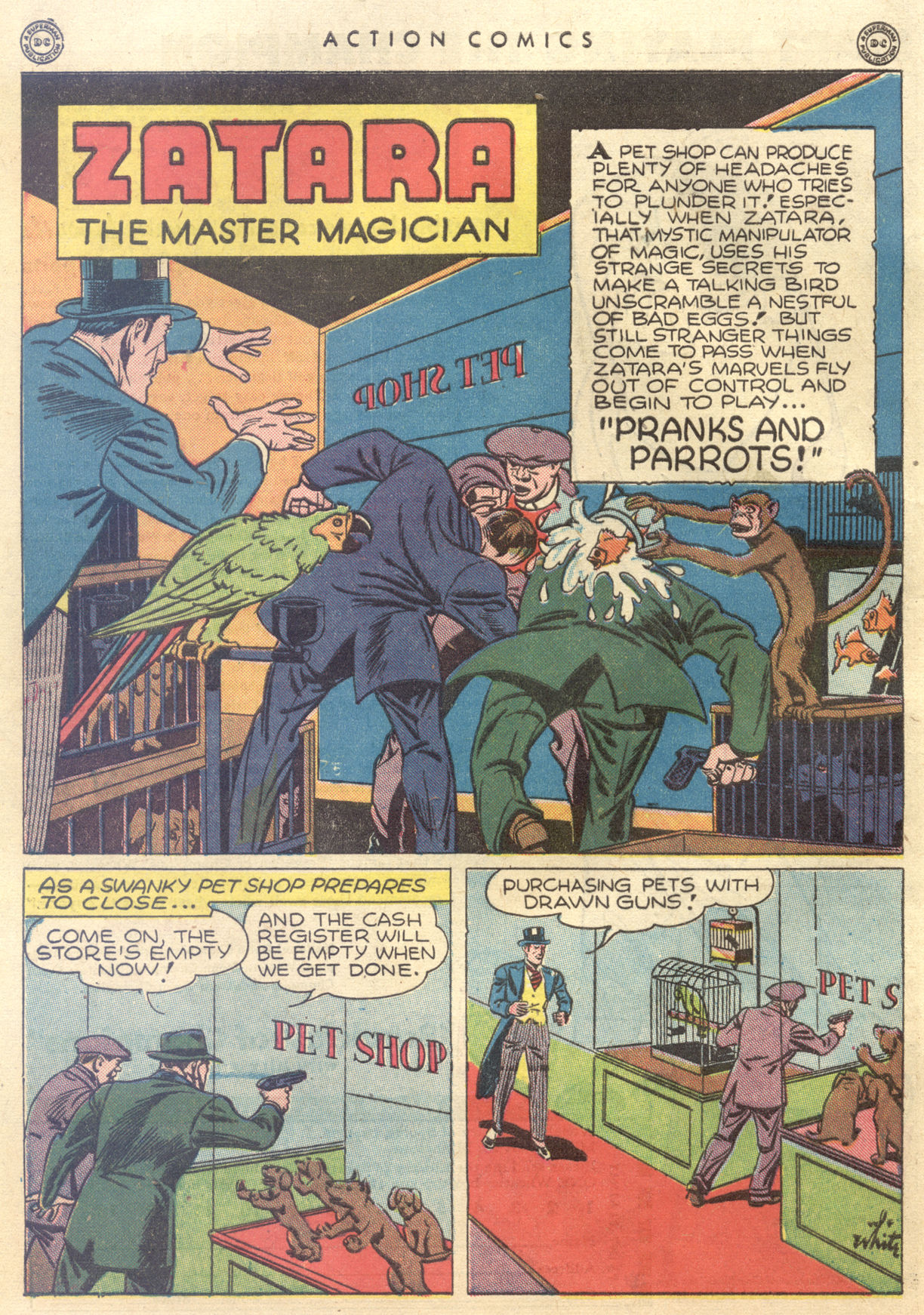 Read online Action Comics (1938) comic -  Issue #88 - 42